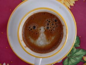 ελληνικός καφές με γάλα